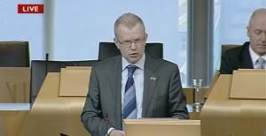 John Mason in Holyrood debate